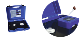SensorTack® Heating box for mobile fitting and at low ambient temperatures