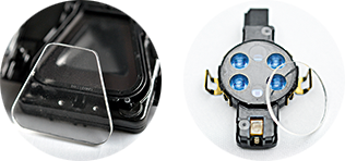 SensorTack® Ready+ ready-made sensor pads for rain/light sensors